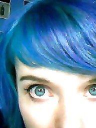 Hair, Blue, Porn
