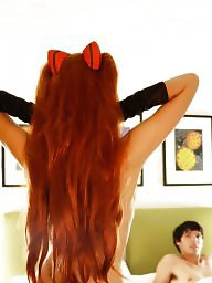 Cosplay, Redheads, Redhead tits