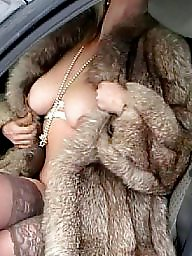 Car, Mature car, Lady milf, Cars