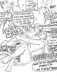 Femdom cartoon, Fingering, Finger, Femdom cartoons, Fingered, Cartoon femdom