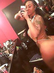 Ebony ass, Stripper