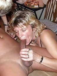 Granny blowjob, Mature blowjob, Sucking, Suck, Grannis, Sucking cock
