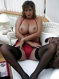 Riding, Brunette mature, Boob