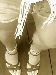 Sissy, Jeans, Short, Shorts