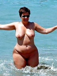 Chubby, Nudist, Bbw beach, Nudists, Nudist beach, Voyeur beach