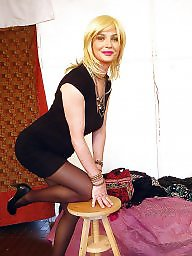 Crossdresser, Crossdress, Crossdressers, Flashing, Crossdressing, Upskirt stockings