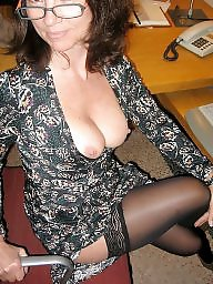 Milf, Mature, Wife, Stockings, Mature stocking, Stocking