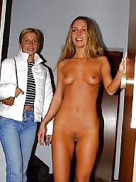 Naked, Public lesbians