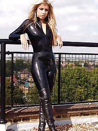 Pvc, Latex, Boots, Leather, Mature boots, Mature pvc