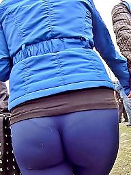 Transparent, Cameltoe, Big ass, Street, Camel