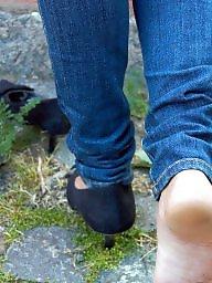 Mature feet, Mature nylon, Nylon feet, Nylons