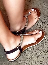 Hidden, Fetish, Sandals, Feet fetish, Barefoot, Toe fetish