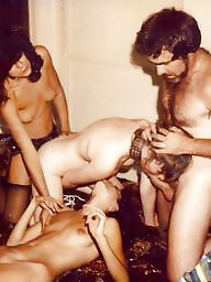 Retro, Group, Flashing, Vintage hardcore, Vintage sex