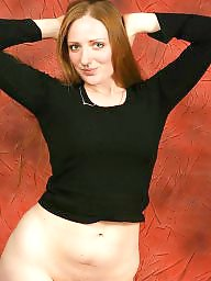 Hairy, Redhead, Hairy redhead, Stocking, Hairy stockings, Stockings