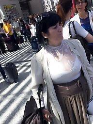 Flashing boobs, Mature big boobs, Breast