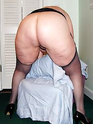 Grandma, Old grandma, Mature stockings, Bbw stockings, Bbw mature, Home