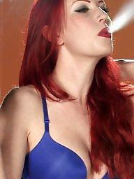 Smoking, Smoke, Red, Pink