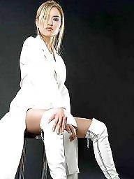 Upskirt stockings, Stockings heels