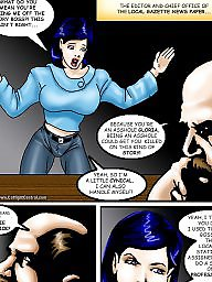 Comic, Comics, Funny, Catfight