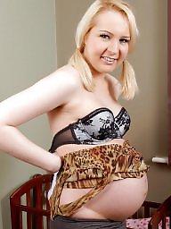 Pregnant, Pregnant teen, Blond