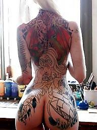 Tattoo, Tattooed, Rude