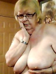 Mature boobs, Old mature