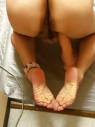 Amateur feet, Ass and feet