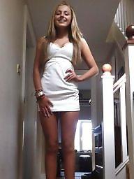Dress, Teen hard, Tight dress, Dick, Hard, Tights