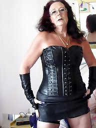 Leather, Mature leather, Milf leather, Mature milfs