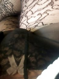 Lace, Upskirt stockings, Amateur stockings
