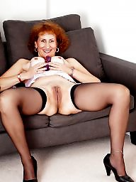 Mature nylon, Granny stockings, Granny, Granny nylon, Nylons, Mature legs