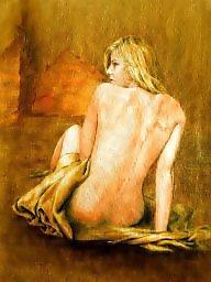 Nude, Oiled, Oil