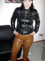 Latex, Leather, Boots, Mature porn, Pvc, Mature boots