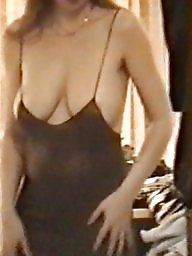 Dress, Mature dress, Mature dressed, Strap, Dressed, Voyeur tits