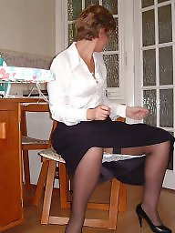 Uk mature, Ironing