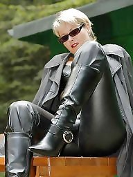 Latex, Leather, Boots, Women