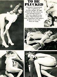 Magazine, Vintage hairy, Tit, Hairy vintage