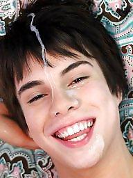 Facial, Face, Teen blowjob, Faces, Teen facial, Teen facials