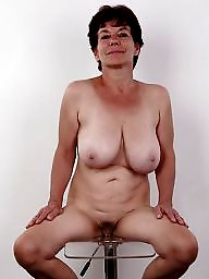 Mature boobs, Hangers, Chunky