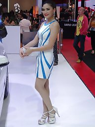 Heels, High heels, Thailand, Asian teen, Asian pantyhose, Teen pantyhose