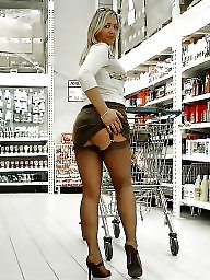 Upskirt, Lady, Sexy ass, Sexy lady