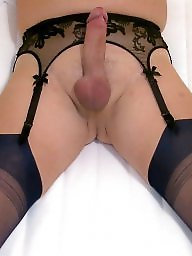 Cock, Stocking asses, Stockings heels