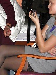 Nylon, Upskirt, Skirt, Skirts, Voyeur upskirt, Amateur nylon
