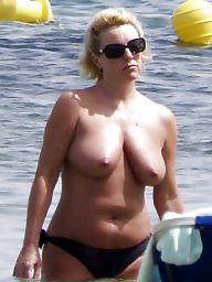 Beach, Topless, Caught
