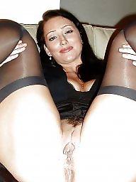 Hairy stockings, Stocking hairy