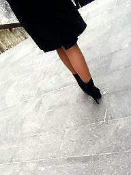 Nylon, Legs, Romanian, Spy, Amateur nylon