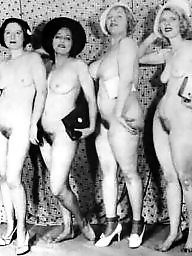 Group, Vintage amateur, Hairy vintage