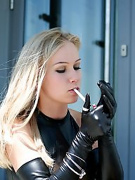 Leather, Gloves, Dress, Dresses