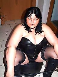 Latex, Strapon, Pvc, Leather, Femdom bbw, Mature femdom