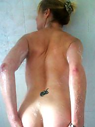 Mature ass, Mature shower